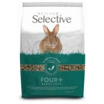 Aliment Lapin +4 ans Science Selective 1,5KG