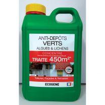 Anti-Dépôts Verts Concentré pour 450M2