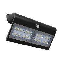 Applique Murale LED Solaire avec Détecteur Mouvement 6.8W - 880 LM - 4000°K