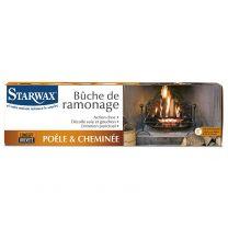 Bûche de Ramonage Starwax 1KG pour Poêle et Cheminée