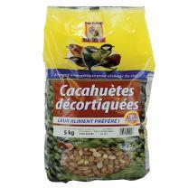 Cacahuètes Décortiquées pour Oiseaux 5KG