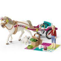 Calèche pour le Spectacle Equestre Schleich