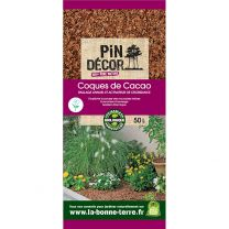 Coques de Cacao Biolandes 50L