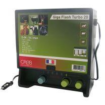 Creb - Electrificateur Clôture Giga Flash Turbo 20