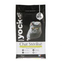 Croquette Yock Chat Stérilisé 3KG Poulet