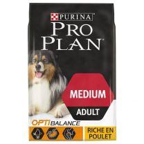 Croquettes Chien Purina Pro Plan MEDIUM Adult
