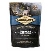 Croquettes pour Chien Adulte Sans Céréales au Saumon Carnilove 1,5KG