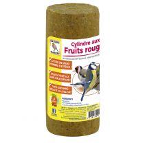 Cylindre aux Fruits Rouges pour Oiseaux Natures Market
