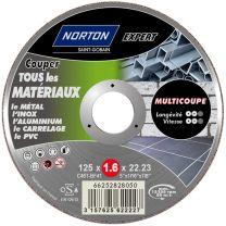 Disque Multi Materiaux 125MM