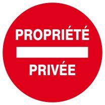 Disque Propriété Privée