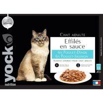 Effilés en sauce Yock Poulet - Dinde & Poulet - Saumon