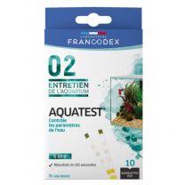 Francodex - Bandelettes de Test Aquatest X10