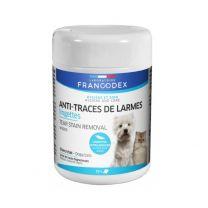 Francodex - Lingettes Anti Traces de Larmes Chien Chat X50
