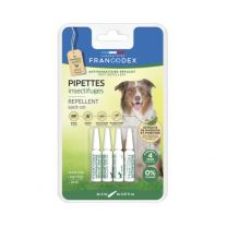 Francodex - Pipettes Insectifuges Chien +20KG X4