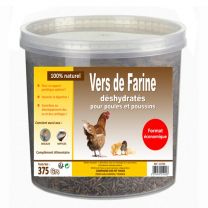 Friandise Poule Vers Farine 375G