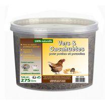 Friandise Poule Vers/Cacahuètes 330G