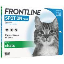 Frontline Spot On - Anti Puces et Tiques Chat