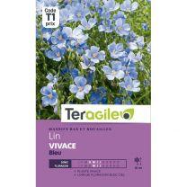 Graines Teragile Lin Vivace Bleu