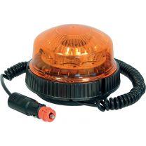 Gyrophare 8 LED Magnétique ou Ventouse