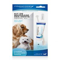 Kit Brossage Dents Chien 70G