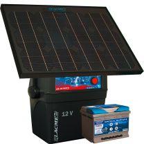 Lacmé - Electrificateur Clôture Secur Sun Kit