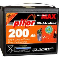 Lacmé - Pile Clôture Alcaline 9V 200AH