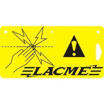 Lacmé - Plaque Signalisation Clôture Electrique