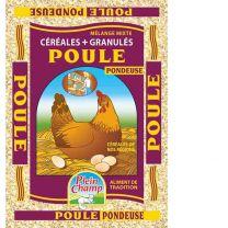 Mélange de Céréales Poule Pondeuse Plein Champ 20KG