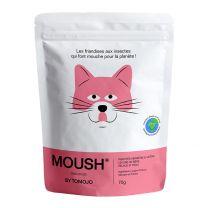 Moush - Friandises pour Chat aux Insectes Pelage et Peau 70G