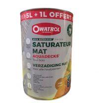 Owatrol - Saturateur Mat Aquadecks Miel 6L