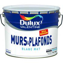 PEINTURE DULUX MURS PLAFONDS MAT 10L
