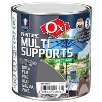 PEINTURE MULTI SUPPORT TOP 3 GRIS FONCE 0.5L