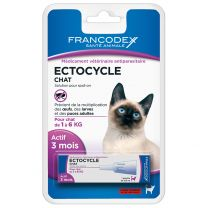 Pipette Ectocycle Chat 1-6KG