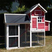 Poulailler House Toit PVC