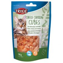 Premio Cheese Chicken Cube 50G