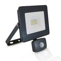 PROJECTEUR EXTERIEUR LED PLAT + DETECTEUR RF 20W - 1760 LM - 4000°K