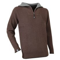 Pull Camionneur Cacao Marron