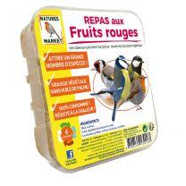 Repas aux Fruits Rouges pour Oiseaux Natures Market