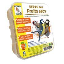 Repas aux Fruits Secs pour Oiseaux Natures Market