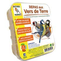 Repas aux Vers de Terre pour Oiseaux Natures Market