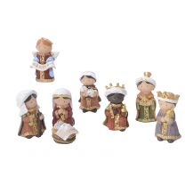 Set de 8 Figurines de Crèche