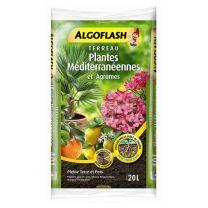 Terreau Agrumes et Plantes Méditerranéennes Algoflash 20L