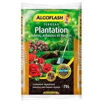 Terreau Plantation Arbre et Rosier Algoflash 70L