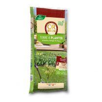 Terreau Végétal - Terre à Planter Or Brun 50L