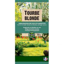 Tourbe Blonde de Sphaigne Prête à l'Emploi 70L