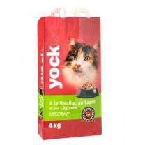 Yock Chat Volaille/Lapin 4KG
