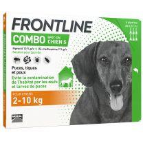 Frontline Combo - Anti Puces et Tiques Chien x6