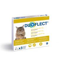 DuoFlect - Anti Puces et Tiques Chat -5KG