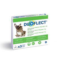 DuoFlect - Anti Puces et Tiques Chat et Petit Chien