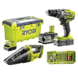Pack Ryobi ONE+ Perceuse Visseuse 18V